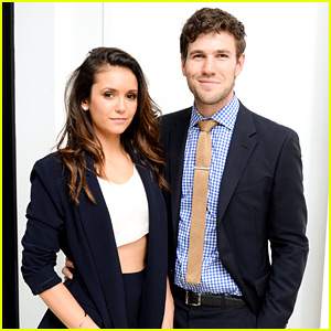 Nina Dobrev & Austin Stowell Couple Up During NYFW
