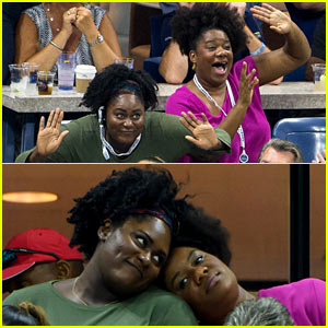 OITNB's Danielle Brooks & Adrienne C. Moore Had the Best Time at the U.S. Open