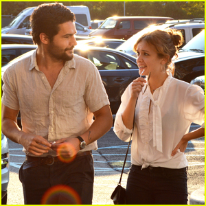 Olivia Cooke & Christopher Abbott Buddy Up at the U.S. Open!
