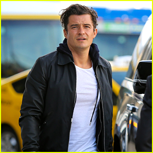 Orlando Bloom Looks So Hot for His LAX Airport Departure