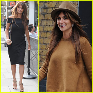 Penelope Cruz Heads to the Agent Provocateur Offices