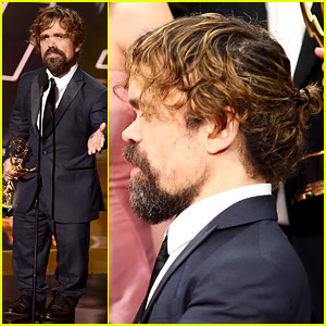 Peter Dinklage Rocked a Man Bun at Emmys 2015