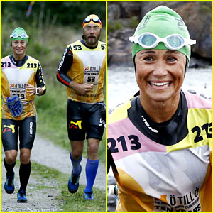 Pippa Middleton Completes a 50-Mile Swim-Run Race!