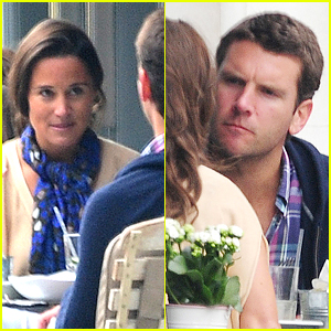 Pippa Middleton Goes for a Friendly Lunch with Ex Alex Loudon