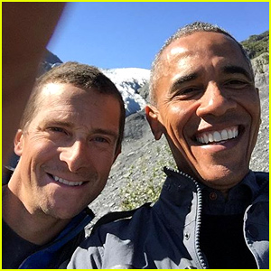 President Obama Snaps Selfie with Bear Grylls in Alaskan Wilderness