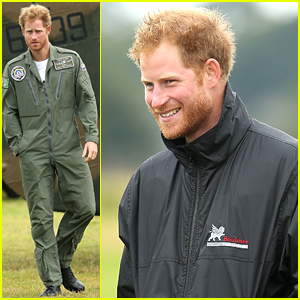 Prince Harry Sports Some Sexy Scruff on His 31st Birthday!