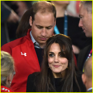 Prince William & Kate Middleton Cheer on Wales at Rugby World Cup With Prince Harry