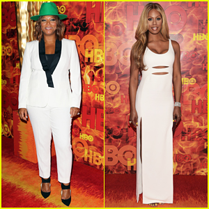 Queen Latifah Celebrates 'Bessie' Wins At HBO's Emmys After Party 2015!