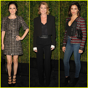 Rachel Bilson & Ellen Pompeo Help Honor Baby2Baby At Private Dinner!