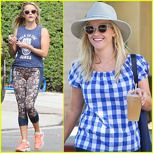 Reese Witherspoon Hangs With YouTubers Grace Helbig & Mamrie Hart