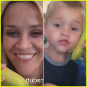 Reese Witherspoon Shares Adorable 'Bananaphone' DubSmash With Son Tennessee - Watch Now!