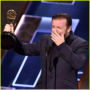 Ricky Gervais Wants You to Think He Won an Emmy Tonight