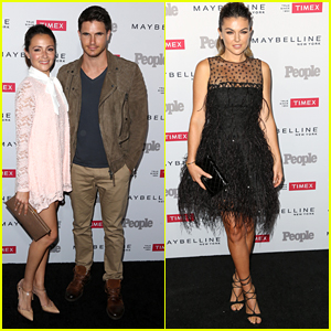 Robbie Amell & Italia Ricci Couple Up For People's One To Watch Event