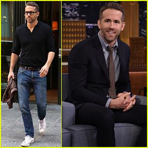 Ryan Reynolds Plays Slapjack on the 'Tonight Show' - Watch Now!