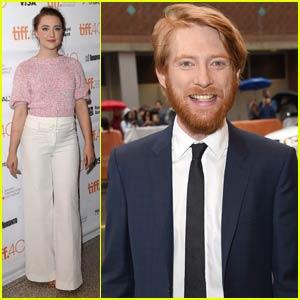 Saoirse Ronan & Domhnall Gleeson Bring 'Brooklyn' to TIFF