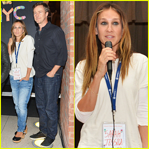 Sarah Jessica Parker & Edward Norton Help Launch Turnaround Arts Program in New York City Schools!