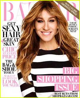 Sarah Jessica Parker Gets Bangs for 'Harper's Bazaar' Cover!