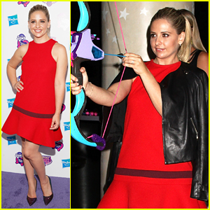 Sarah Michelle Gellar Gets Her Game On At My Little Pony Equestria Girls Premiere!