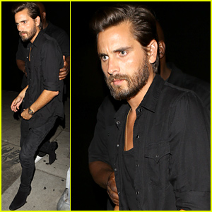 Scott Disick Has a Night Out After New Sources Say Kourtney Kardashian Isn't Interested in Reconciling