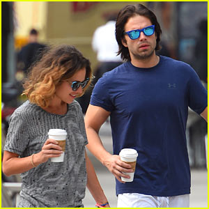 Sebastian Stan's Long Winter Soldier Hair Is Still There!