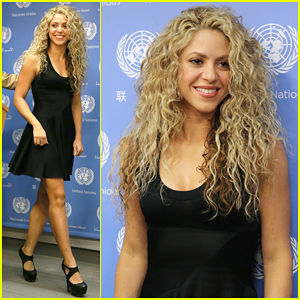 Shakira Speaks At Meeting Of The Minds: 'Children Should Not Pay The Price Of War'