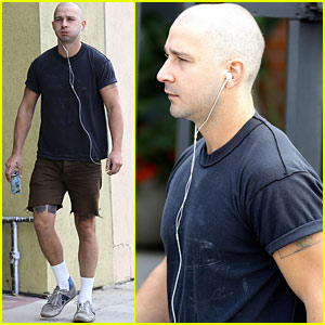 Shia LaBeouf Shaves His Head - See His New Look!