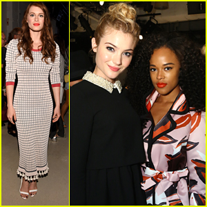Skyler Samuels & Serayah Team Up For Rachel Zoe Show During NYFW