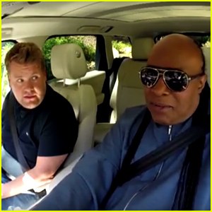 Stevie Wonder Brings James Corden to Tears in 'Carpool Karaoke' - Watch Now!