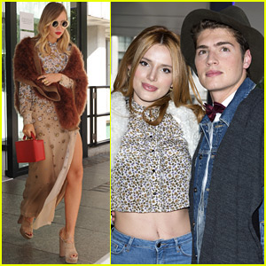 Suki Waterhouse & Bella Thorne Hit Up Topshop's Fashion Show