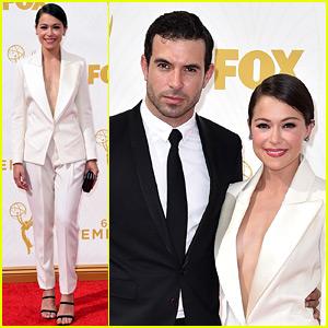 Tatiana Maslany Brings Boyfriend Tom Cullen to Emmys 2015!