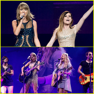 Taylor Swift's Latest Surprise Guests: The Band Perry & Echosmith!