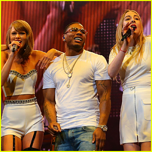 Taylor Swift & Haim Become Nelly's 'Hot in Herre' Dancers!
