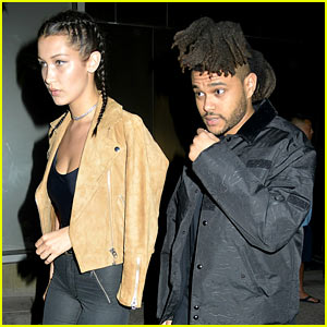 The Weeknd & Girlfriend Bella Hadid Step Out for Date Night!
