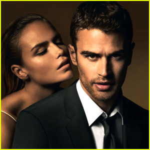 Theo James' Steamy Hugo Boss Campaign Is Here!
