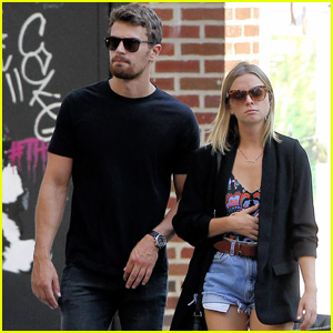 Theo James & Girlfriend Ruth Kearney Couple Up in Big Apple