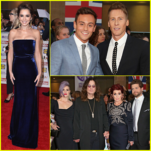 Tom Daley & Dustin Lance Black Couple Up At Pride of Britain Awards 2015!