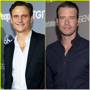 Tony Goldwyn & Scott Foley Celebrate TGIT With 'Scandal' Cast