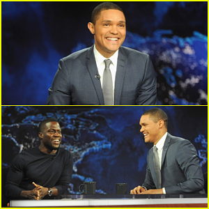 Trevor Noah Makes 'Daily Show' Debut with Jon Stewart Tribute & Kevin Hart - Watch Here!