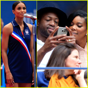 Ciara Delivers Stunning Performance of 'God Bless America' at the U.S. Open