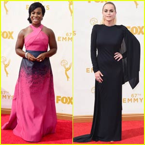 Uzo Aduba & Taryn Manning Bring 'Orange is the New Black' to Emmy Awards 2015