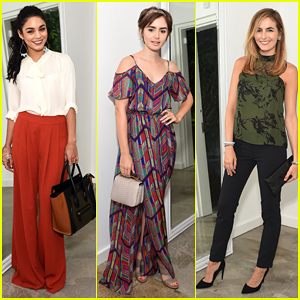 Vanessa Hudgens, Lily Collins & Camilla Belle Get Glam For The A List 15th Anniversary Party!