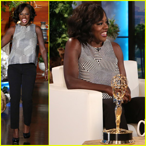 Viola Davis Talks About Drinking Before Her Emmy Win (Video)