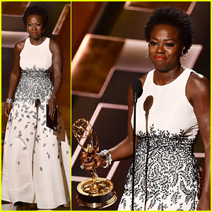 Viola Davis Makes History for Black Women at Emmys 2015