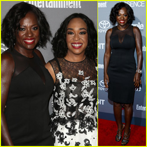 Viola Davis Celebrates TGIT Return With Her 'How to Get Away With Murder' Castmates After Emmy Win