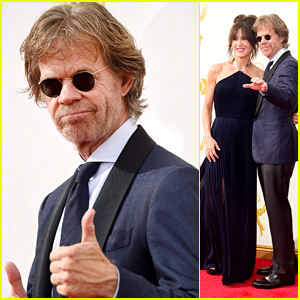 William H. Macy & Felicity Huffman Look Radiant At Emmys
