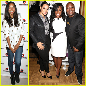 Zoe Saldana, Uzo Aduba & Laverne Cox Make Their Mark At Advertising Week 2015!