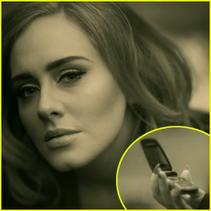 Adele's 'Hello' Music Video Director Explains Why They Used Flip Phones!