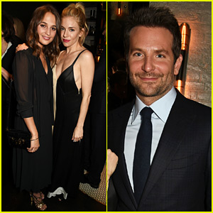 Alicia Vikander Joins Bradley Cooper & Sienna Miller at the 'Burnt' Party!
