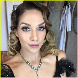 Allison Holker Talks About Her Love for the 'Famous Dances' Theme in Her 'Dancing With the Stars' Week Six Blog!