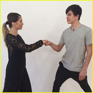 Allison Holker Talks Working With Hayes Grier in Her Week Five 'Dancing With the Stars' Blog!